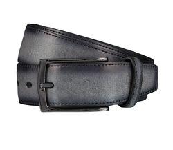 LLOYD Men's Belts Gürtel Herrengürtel Ledergürtel Grau 4037