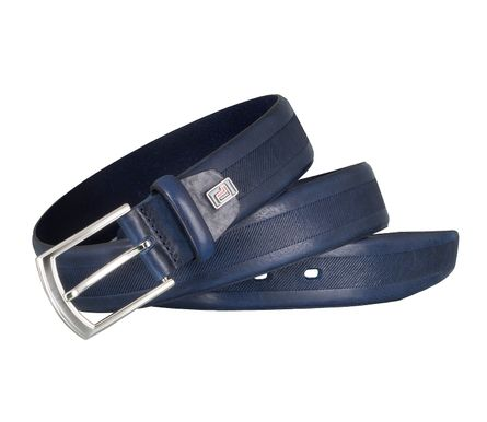 LLOYD Men's Belts Gürtel Herrengürtel Vollrindleder Royal Blau 4039 4