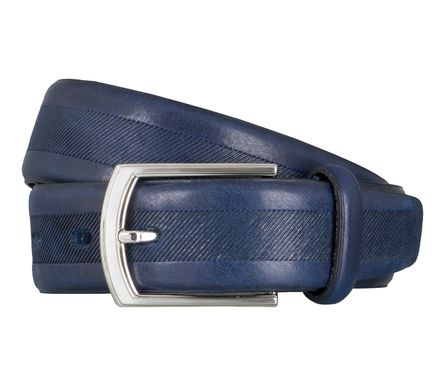 LLOYD Men's Belts Gürtel Herrengürtel Vollrindleder Royal Blau 4039 1