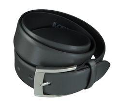 LLOYD Men's Belts Gürtel Herrengürtel Ledergürtel Grau 4040 2
