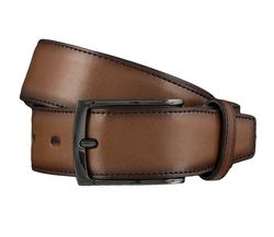 LLOYD Men's Belts Gürtel Herrengürtel Ledergürtel Cognac 4144