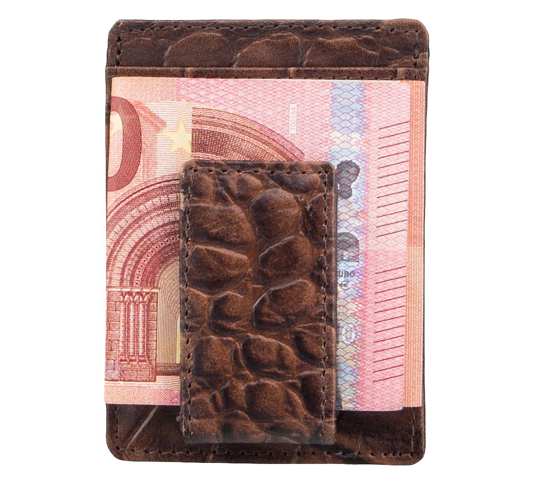 Kreditkartenetui Visitenkartenetui Ausweisetui Braun 4315