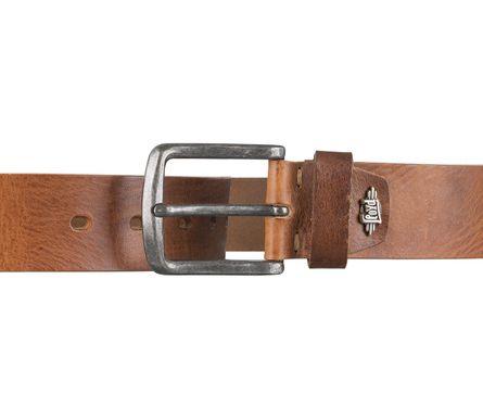 LLOYD Men's Belts Gürtel Herrengürtel Ledergürtel Vollrindleder Brandy 4317 – Bild 3
