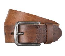 LLOYD Men's Belts Gürtel Herrengürtel Ledergürtel Vollrindleder Brandy 4317
