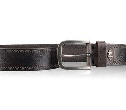 LLOYD Men's Belts Gürtel Herrengürtel Ledergürtel Büffelleder Grau 4321 3