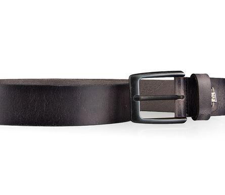 LLOYD Men's Belts Gürtel Herrengürtel Ledergürtel Büffelleder Grau 4327 3