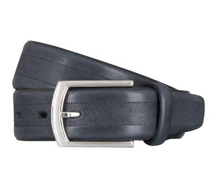 LLOYD Men's Belts Gürtel Herrengürtel Ledergürtel Vollrindleder Marine Blau 5037 – Bild 1
