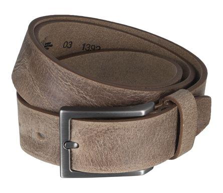 LLOYD Men's Belts Gürtel Herrengürtel Ledergürtel Büffelleder Beige 5105 2