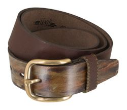 LLOYD Men's Belts Gürtel Herrengürtel Ledergürtel Braun 5355 2