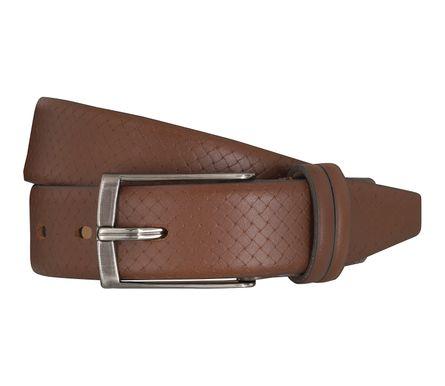 LLOYD Men's Belts Gürtel Herrengürtel Ledergürtel Brandy 5363 – Bild 1