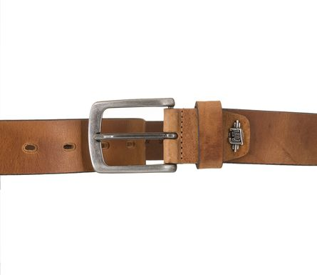 LLOYD Men's Belts Gürtel Herrengürtel Ledergürtel Vollrindleder Beige 5364 – Bild 3