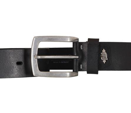 LLOYD Men's Belts Gürtel Herrengürtel Ledergürtel Vollrindleder Schwarz 5435 3