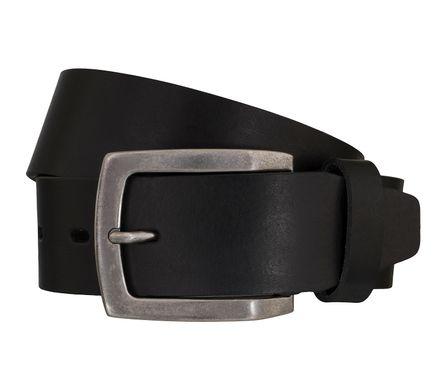 LLOYD Men's Belts Gürtel Herrengürtel Ledergürtel Vollrindleder Schwarz 5435 1