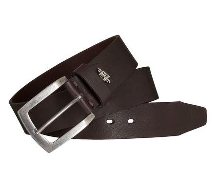 LLOYD Men's Belts Gürtel Herrengürtel Ledergürtel Vollrindleder Braun 5436 4