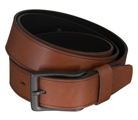 LLOYD Men's Belts Gürtel Herrengürtel Ledergürtel Brandy 5438 – Bild 2