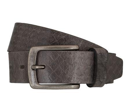 LLOYD Men's Belts Gürtel Herrengürtel Ledergürtel Büffelleder Grau 5440 – Bild 1
