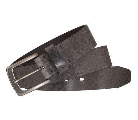 LLOYD Men's Belts Gürtel Herrengürtel Ledergürtel Büffelleder Grau 5440 – Bild 4