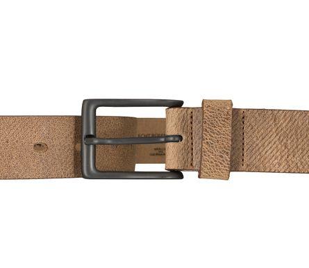 LLOYD Men's Belts Gürtel Herrengürtel Büffelleder Beige 5852 – Bild 3