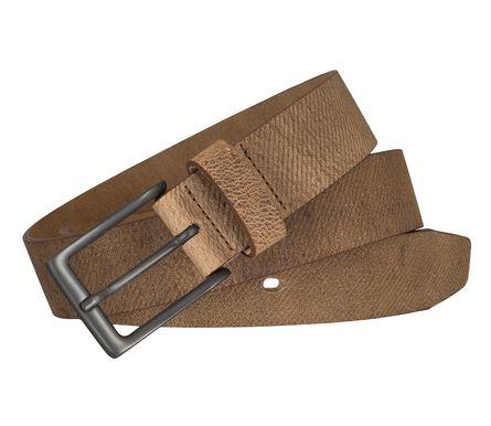 LLOYD Men's Belts Gürtel Herrengürtel Büffelleder Beige 5852 – Bild 4