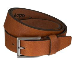 LLOYD Men's Belts Gürtel Herrengürtel Büffelleder Brandy 5855 2