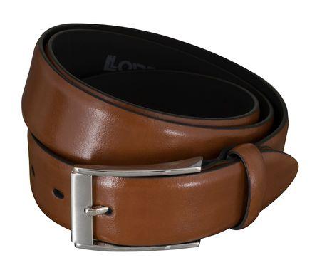 b91ca054abccaf LLOYD Men's Belts − Gürtel - Herrengürtel - Ledergürtel- Cognac 5857