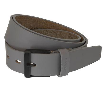 Strellson Gürtel Herrengürtel Ledergürtel Grau 5956 – Bild 2