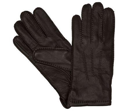 LLOYD Herrenhandschuhe Handschuhe Hirschleder Braun 6444 – Bild 1