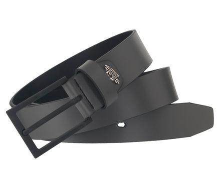 LLOYD Men's Belts Gürtel Herrengürtel Leder Grau 6520 4