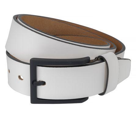 LLOYD Men's Belts Gürtel Herrengürtel Leder Weiß 6521 – Bild 2
