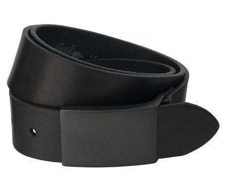 LLOYD Men's Belts Gürtel Herrengürtel Vollrindleder Schwarz 6522 2