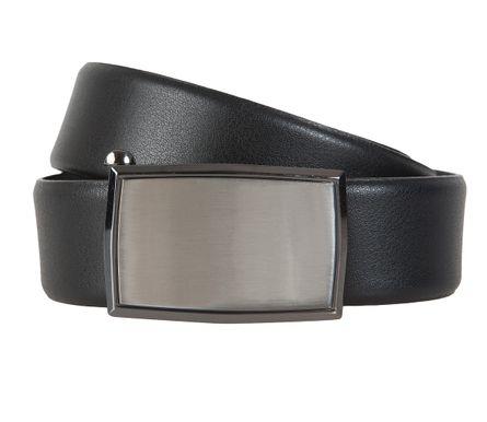 LLOYD Men's Belts Gürtel Herrengürtel Ledergürtel Automatikschleße Schwarz 6600 – Bild 1