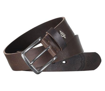 LLOYD Men's Belts Gürtel Herrengürtel Ledergürtel Vollrindleder Braun 6602 4