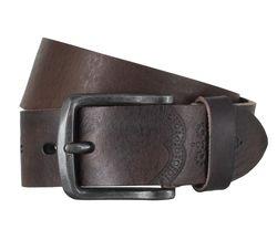 LLOYD Men's Belts Gürtel Herrengürtel Ledergürtel Vollrindleder Braun 6602 1