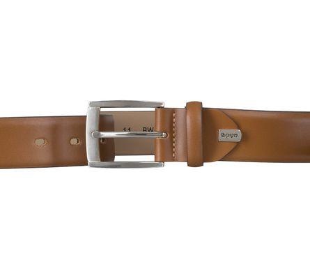 LLOYD Men's Belts Gürtel Herrengürtel Ledergürtel Cognac 6606 – Bild 3