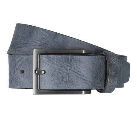 LLOYD Men's Belts Gürtel Herrengürtel Ledergürtel Büffelleder Blau 6611 – Bild 1