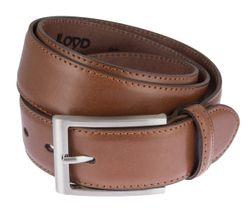 LLOYD Men's Belts Gürtel Herrengürtel Ledergürtel Cognac 6618 2