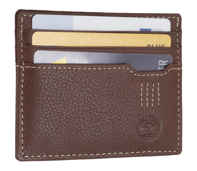Kreditkartenetui Visitenkartenetui Ausweisetui Braun 6703