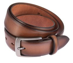 LLOYD Men's Belts Gürtel Herrengürtel Ledergürtel Cognac 6835 2