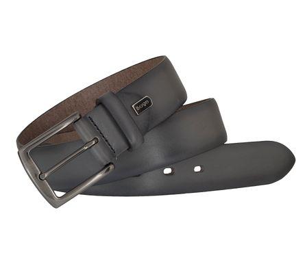 LLOYD Men's Belts Gürtel Herrengürtel Ledergürtel Grau 6838 – Bild 4