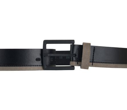 LLOYD Men's Belts Gürtel Herrengürtel Ledergürtel Sneaker Gürtel Schwarz 6889 – Bild 3