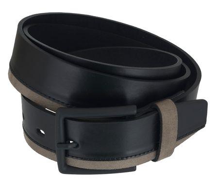 LLOYD Men's Belts Gürtel Herrengürtel Ledergürtel Sneaker Gürtel Schwarz 6889 – Bild 2
