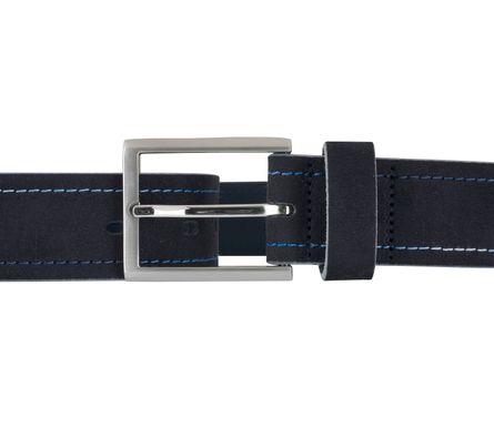 LLOYD Men's Belts Gürtel Herrengürtel Veloursleder Gürtel Blau/Marine 6894 3