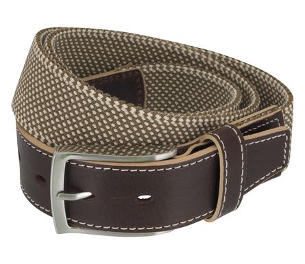 LLOYD Men's Belts Gürtel Herrengürtel Stretchgürtel Beige 6902 – Bild 2