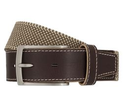 LLOYD Men's Belts Gürtel Herrengürtel Stretchgürtel Beige 6902 1
