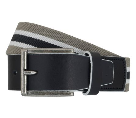 LLOYD Men's Belts Gürtel Herrengürtel Stretchgürtel Grau 6905 1