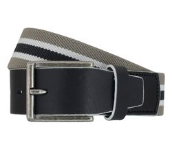 LLOYD Men's Belts Gürtel Herrengürtel Stretchgürtel Grau 6905