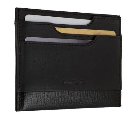 HEAD Herren Etui Kartenetui Ausweisetui Kreditkartenetui mit RFID-Chip Schutz Schwarz 7444 – Bild 2