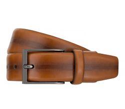 Strellson Gürtel Herrengürtel Ledergürtel Flexbelt Cognac 7562