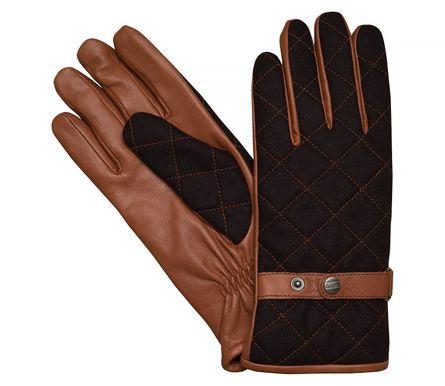 LLOYD Herrenhandschuhe Handschuhe Wollfilz/Schafleder Braun 7622 – Bild 1