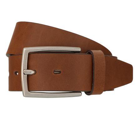 LLOYD Men's Belts Gürtel Herrengürtel Ledergürtel Vollrindleder Brandy 7772 – Bild 1